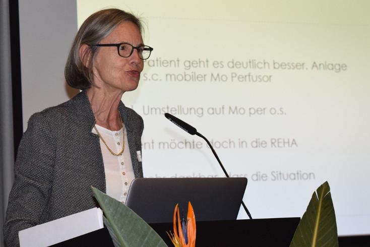 Barbara Federspiel am Symposium Pallivita 2018