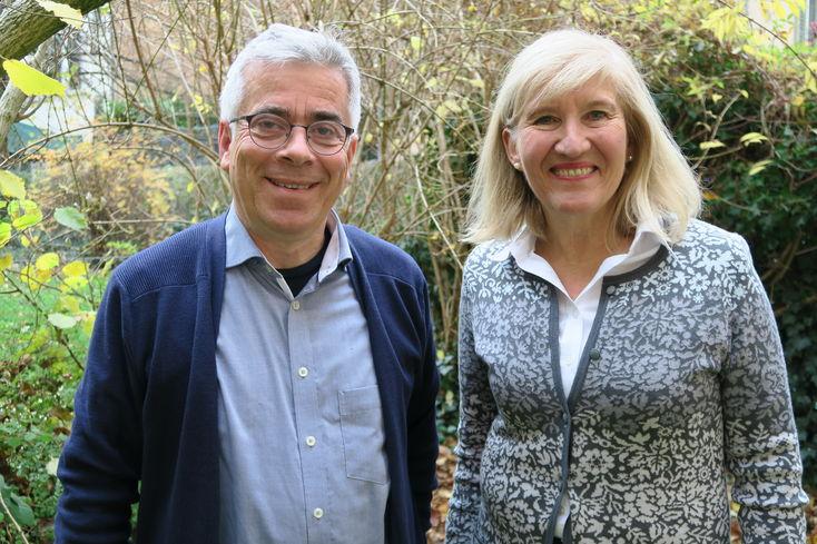 Matthias Fischer und Lisa Palm