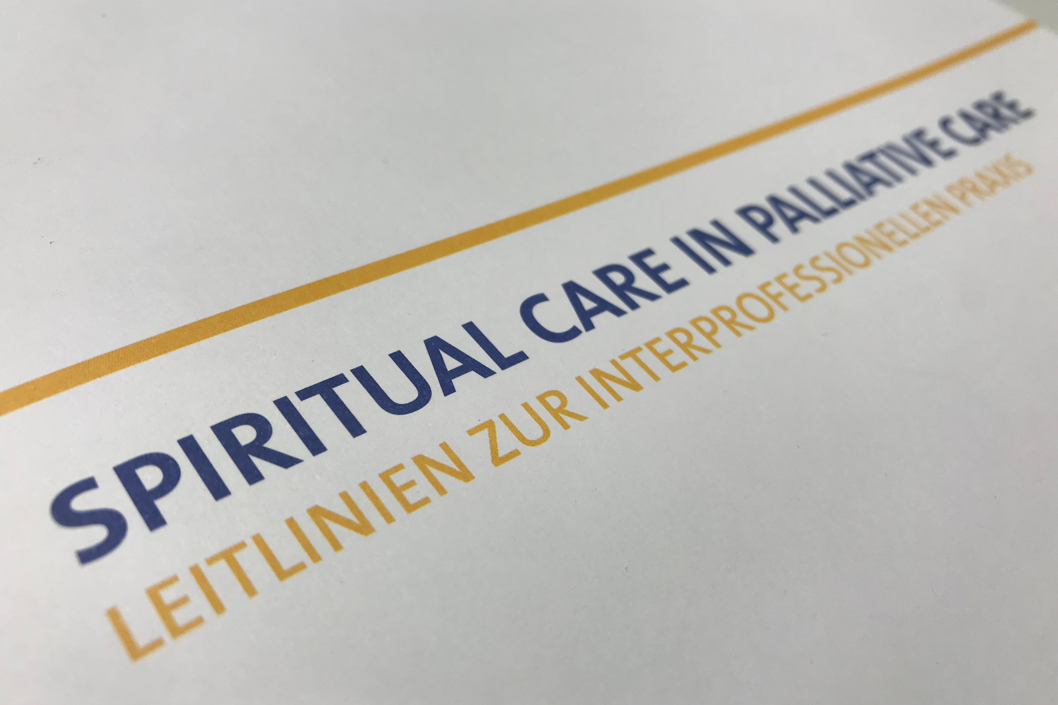 Leitlinien für Spiritual Care in der Palliative Care